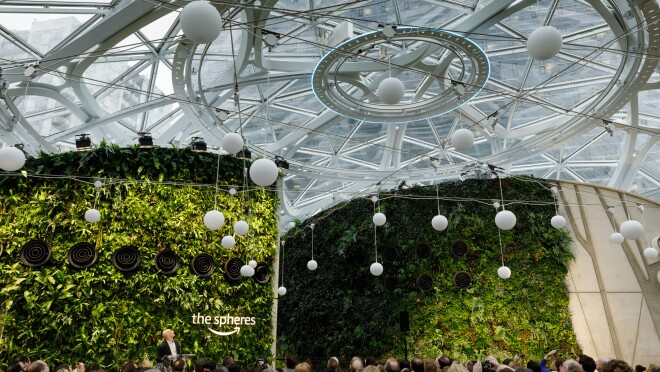 The Spheres opening