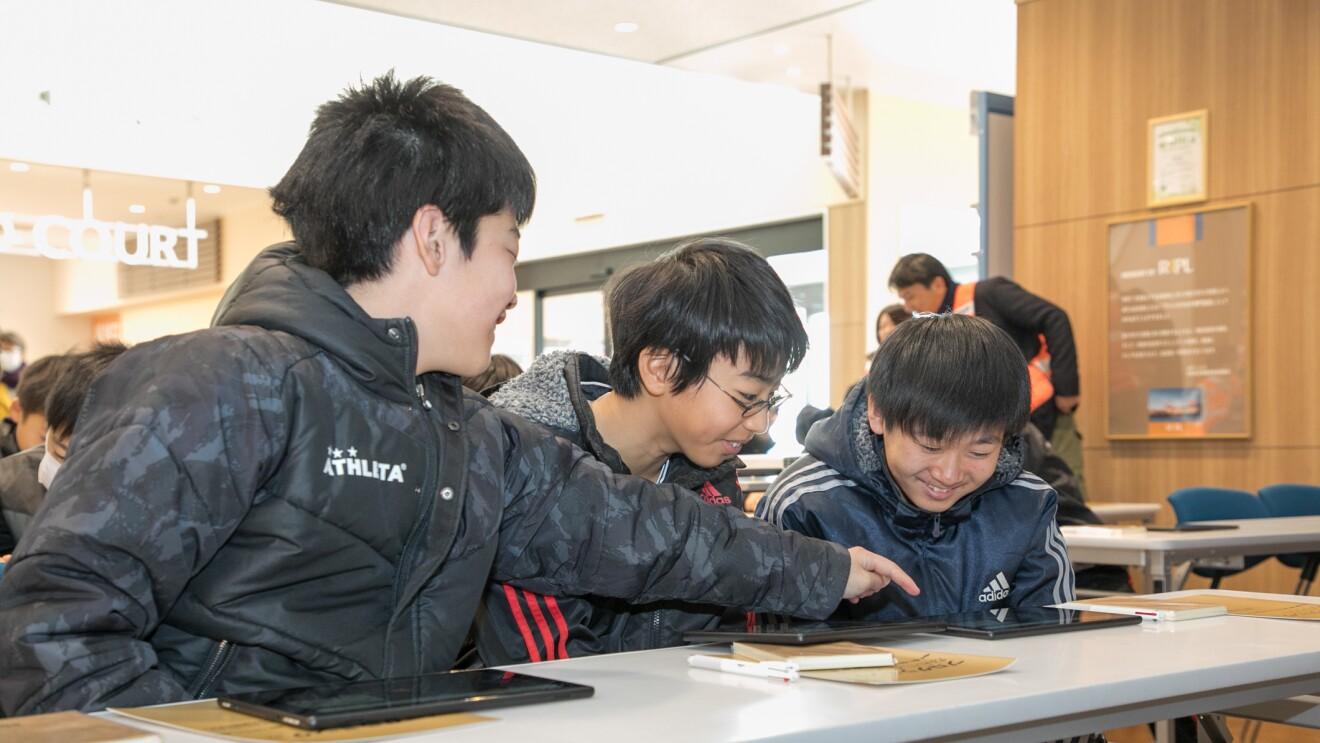 東北の未来を担う児童たちに向けて「Mobile FC」によるSTEM教室を開催