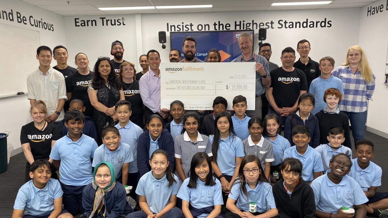 $10,000 STEM donation to Dandenong North Public School
