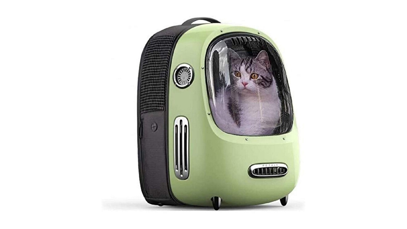Petkit Breezy Cat Backpack with ventilation