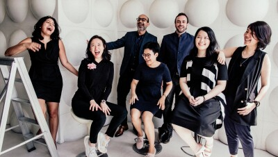 The team behind Oribel, a small business selling on Amazon.sg