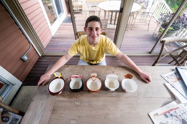 Young entrepreneur Max Ash