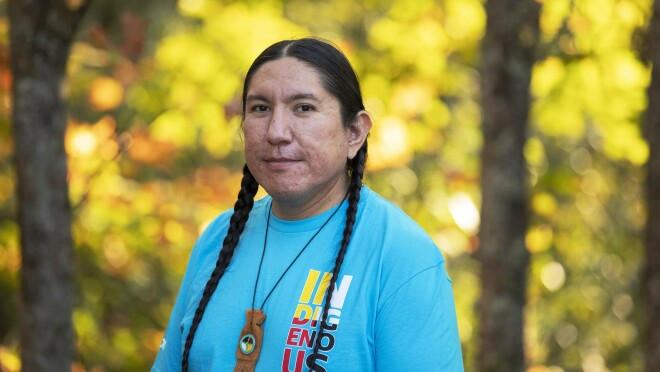 An image of a member of the Indigenous@ leadership.