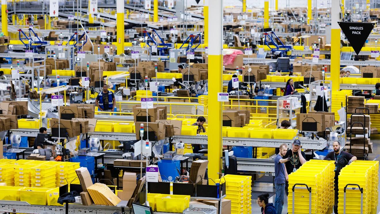 Amazon Fulfillment Center - Kent, WA